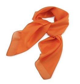 Premium Promotions Oranje polyester 75x75cm