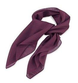 Premium Promotions Aubergine polyester 75x75cm