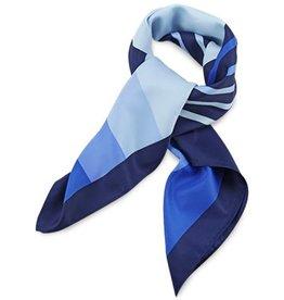 Premium Promotions Blauw-wit polyester 80x80cm