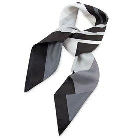 Premium Promotions Zwart-grijs-wit polyester 80x80cm