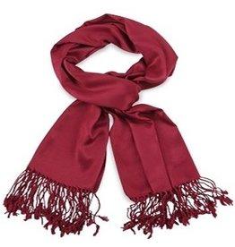 Premium Promotions Pashmina 70x180cm bordeaux rood