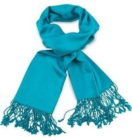Premium Promotions Pashmina 70x180cm turquoise
