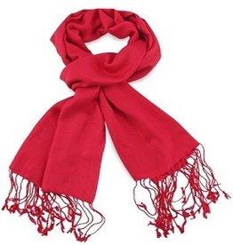 Premium Promotions Pashmina 70x180cm rood