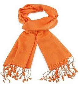 Premium Promotions Pashmina 70x180cm oranje
