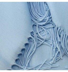 Premium Promotions Pashmina Italy 80x200cm lichtblauw