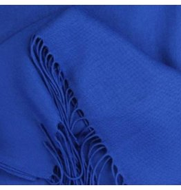 Premium Promotions Pashmina Italy 80x200cm kobaltblauw