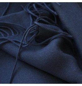 Premium Promotions Pashmina Italy 80x200cm blauw