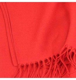 Premium Promotions Pashmina Italy 80x200cm rood