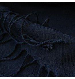 Premium Promotions Pashmina Italy 80x200cm marineblauw