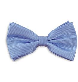 Premium Promotions Strik polyester repp lichtblauw