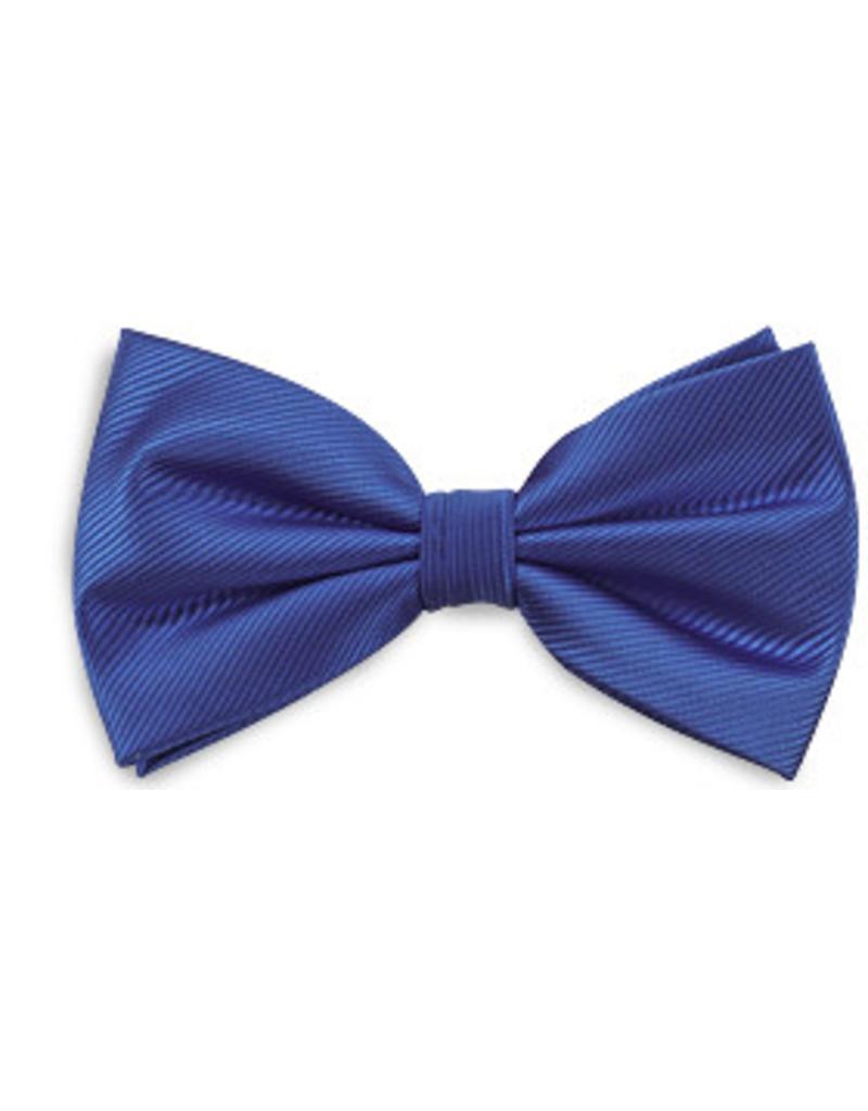 Premium Promotions Strik polyester repp kobaltblauw