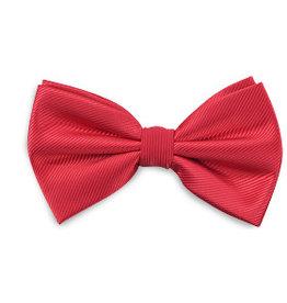 Premium Promotions Strik polyester repp rood