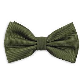 Premium Promotions Strik polyester repp olijfgroen