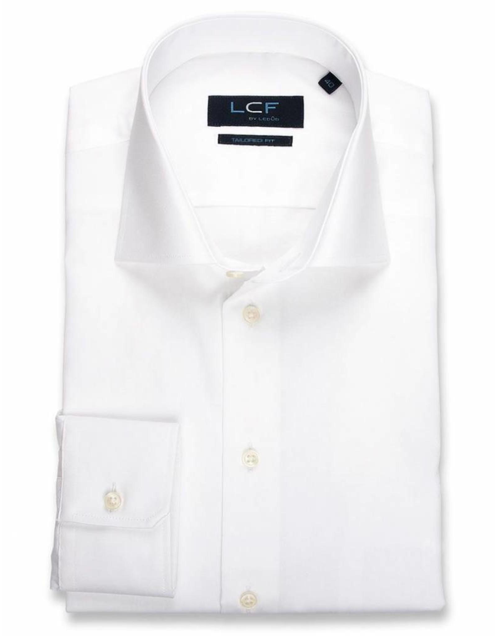 LCF Overhemd 100% katoen non-iron wit