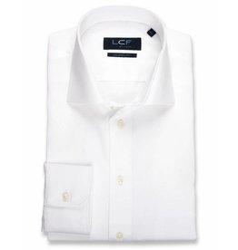 LCF Overhemd 100% katoen non-iron wit MF