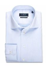 LCF Overhemd 100% katoen non-iron lichtblauw