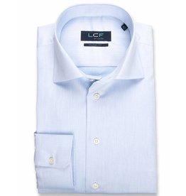 LCF Overhemd 100% katoen non-iron lichtblauw MF