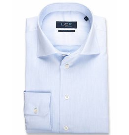 LCF Overhemd 100% katoen non-iron lichtblauw TF ML7