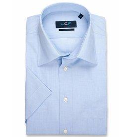 LCF Overhemd 60-40 lichtblauw korte mouw