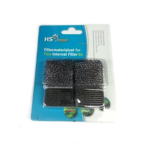 Hs Aqua Filtermaterialenset Tico Filters