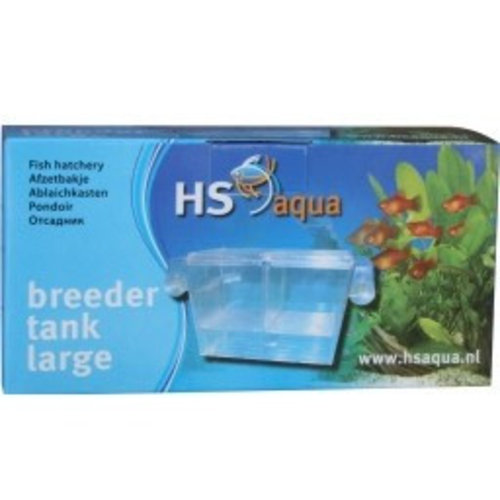Hs Aqua Breeder Tank Large