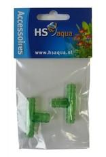 Hs Aqua T-Stuk Plastic 9-12