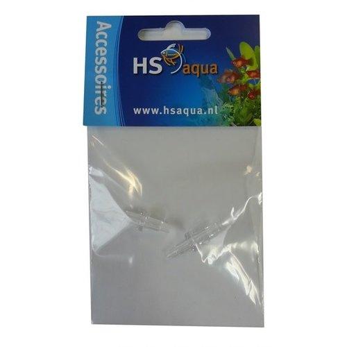 Hs Aqua Koppelstuk Plastic 4-6