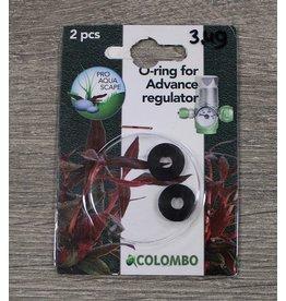 Colombo Co2 O-Ring voor Drukregelaar 2x