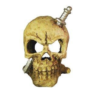 Deco Led Skull White