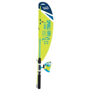 "Jarvis Walker Small Fry 5"" Spin Combo Blue/Green"