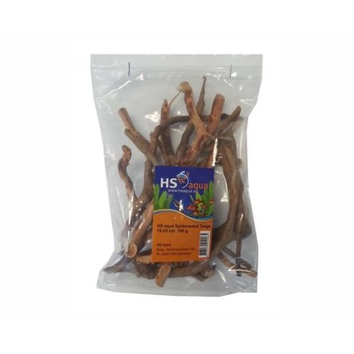 Hs Aqua Spiderwood Twigs 100 gram