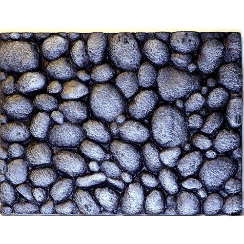 Hs Aqua Background Pebbles Grey 60x45x4.5 cm