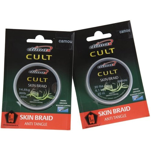 Climax Cult Skin Braid Camouflage 30lb. 20mtr.