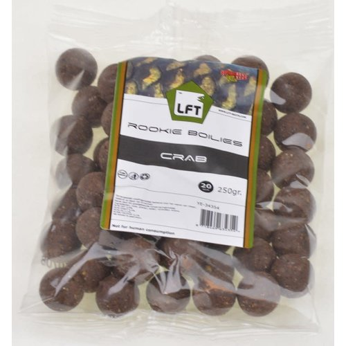 LFT Rookie Carp Boilies 250gr. 20mm. Crab