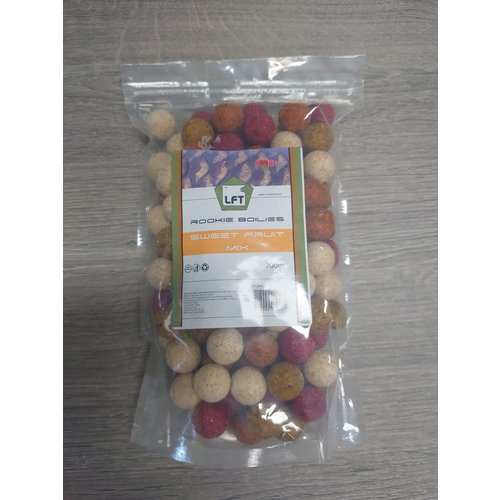 Rookie Boilies 700gr. Sweet Fruit Mix