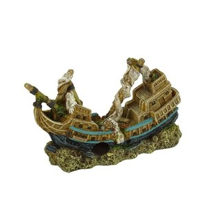 Blue Belle Pacific Sinkin Ship 28 cm