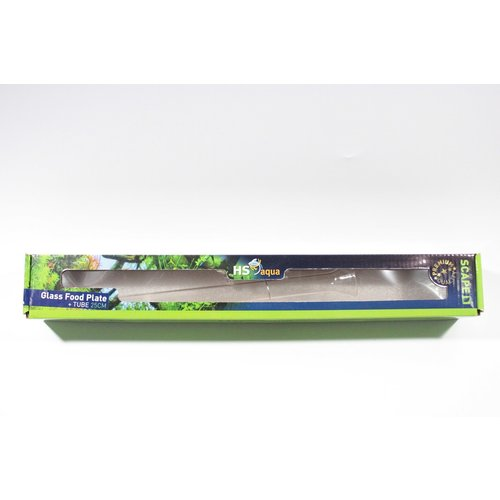 Hs Aqua Glazen Voederplaat + Voederbuis