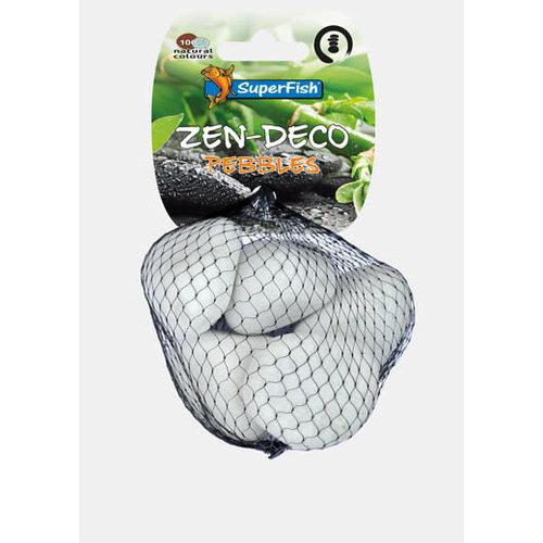 Zen-Deco Pebble White