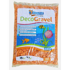 Deco Gravel Neon Orange 1kg