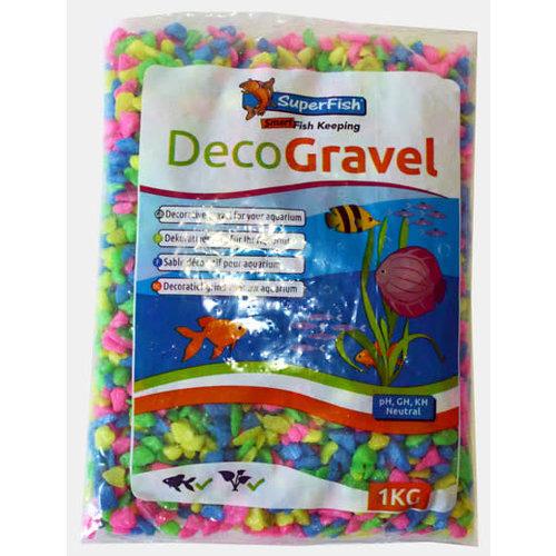 Deco Gravel Neon Mix 1kg