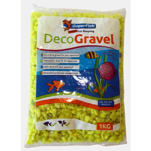 Deco Gravel Neon Yellow 1kg