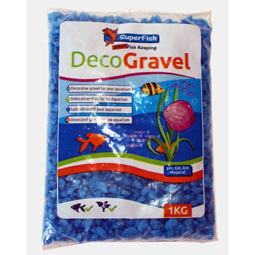 Deco Gravel Neon Blue 1kg
