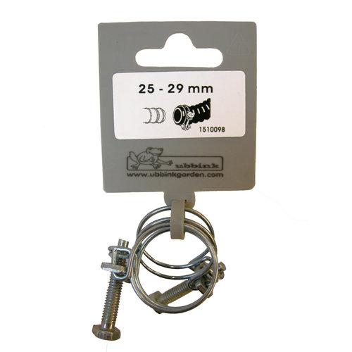 Ubbink Slangklemmen verzinkt 25-29 mm