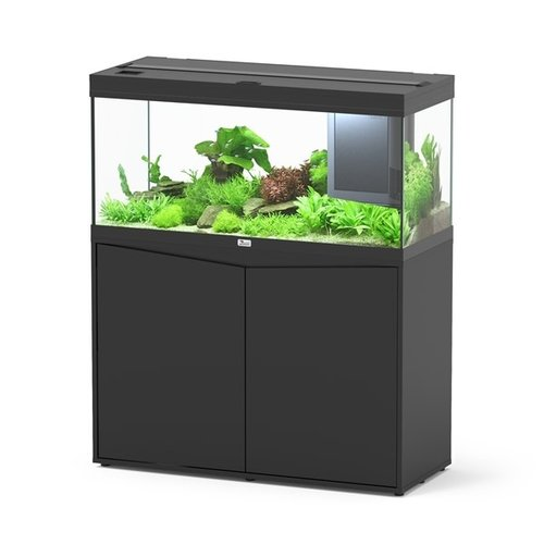 Aquatlantis Aquarium Volga 180 set - Zwart