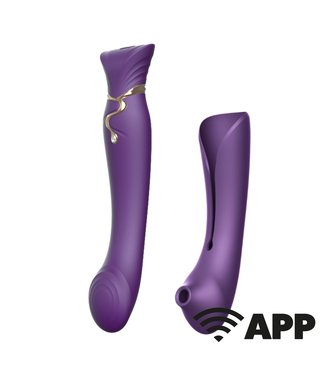 Zalo Queen Set - G-Spot Vibrator with APP