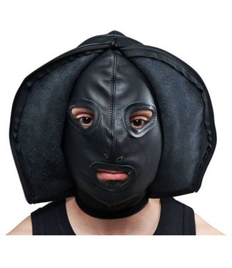 Leather Double Faced Hood