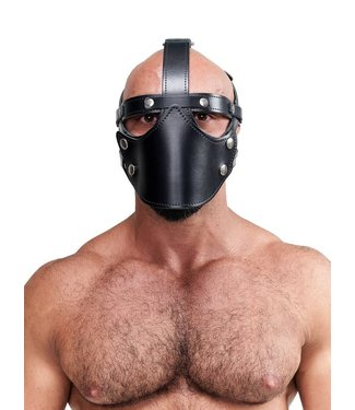 Leather Face Muzzle Harness