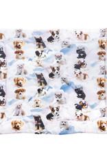 """Little Chic by TAVO Little Chic by TAVO (Hunde-)Decke mit Hoch-Daunen-Vliesfüllung """"Hunde im Himmel"""""""
