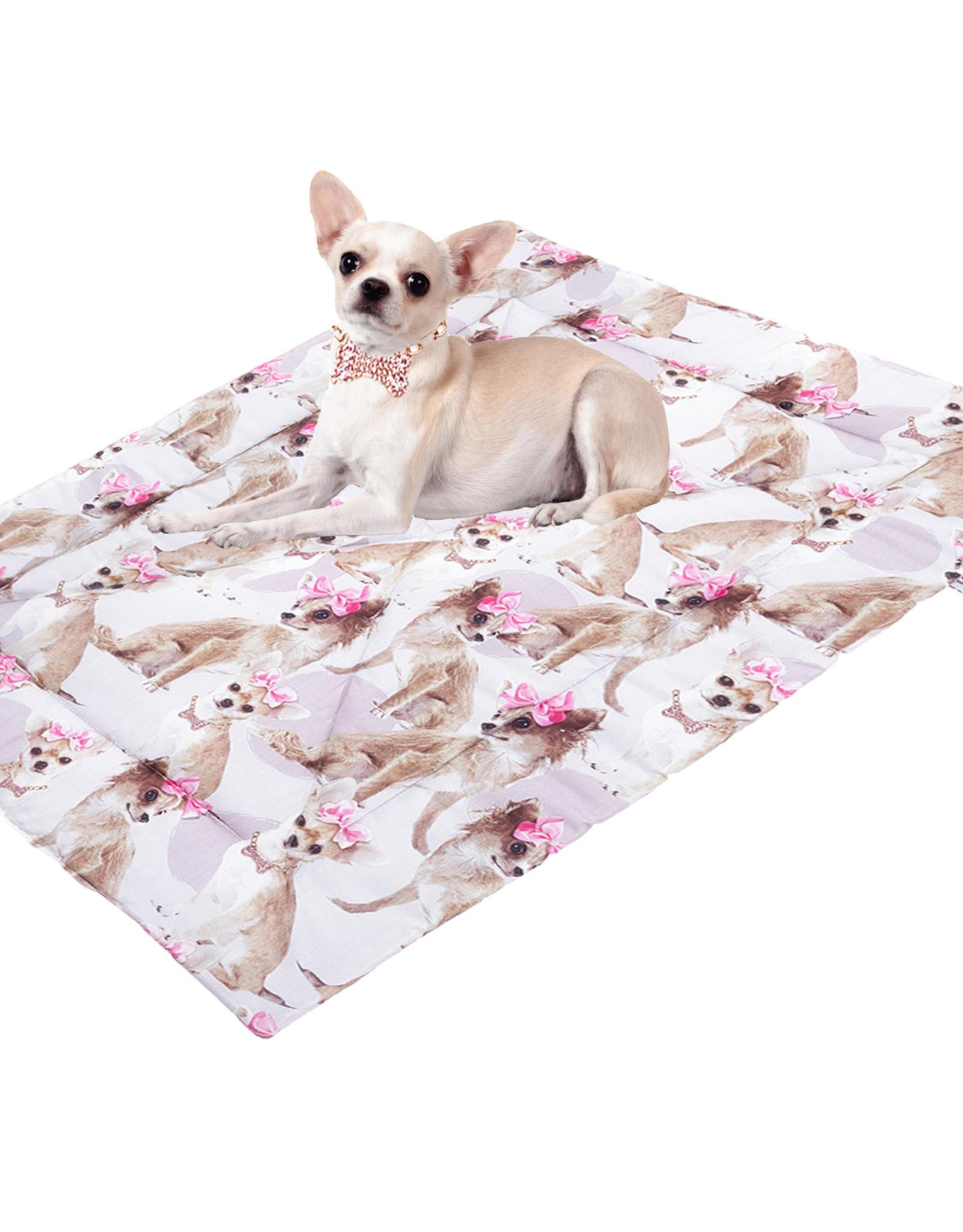 """Little Chic by TAVO Little Chic by TAVO (Hunde-)Decke mit Hoch-Daunen-Vliesfüllung """"PinkyBell"""""""