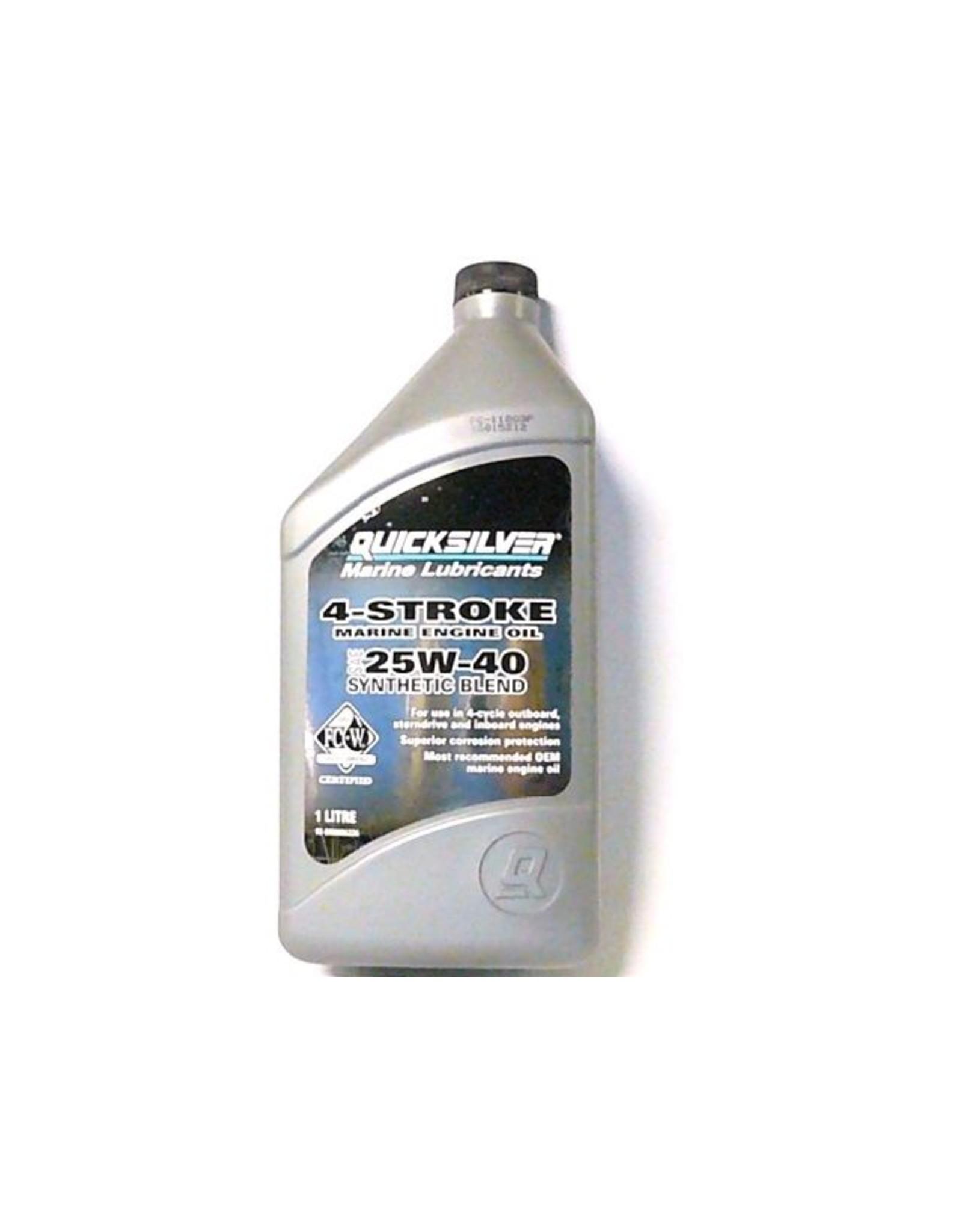 Quicksilver Mercury / Quicksilver synthetische 4-Takt olie 25W-40.